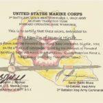 Flag Certificate